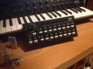 Korg SQ-1 and MS-20 Mini